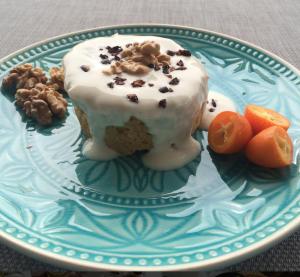 Carrot mugcake