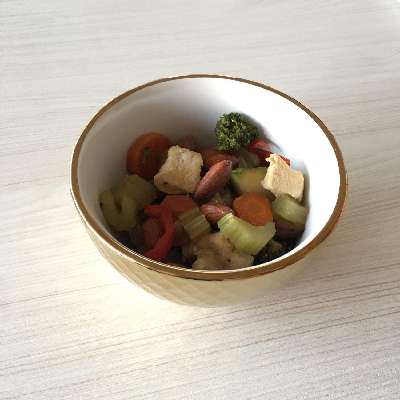 Chapsuy de pollo y verduras