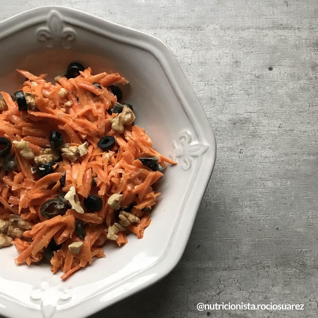 Ensalada de zanahoria mediterranea