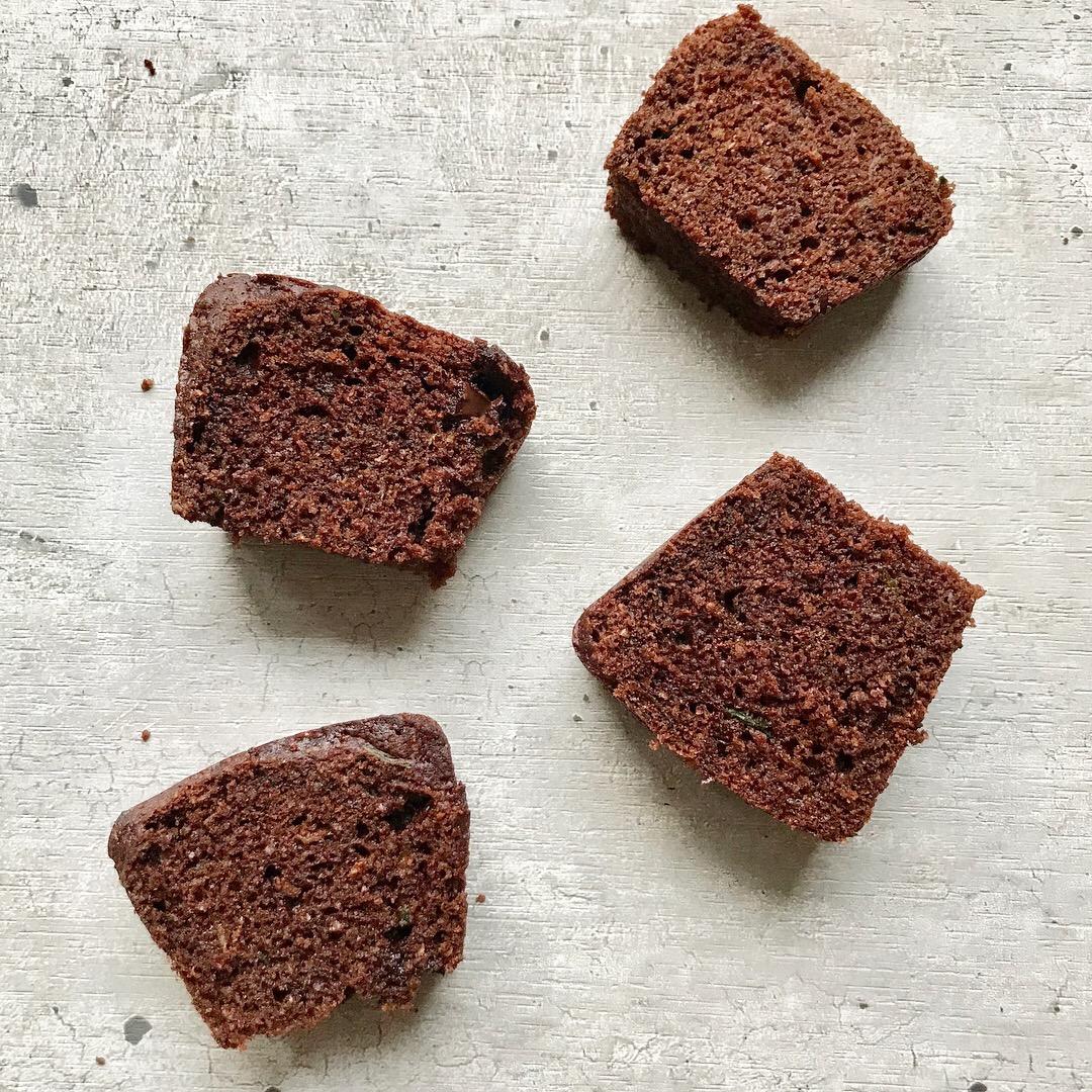Brownie de Zucchini