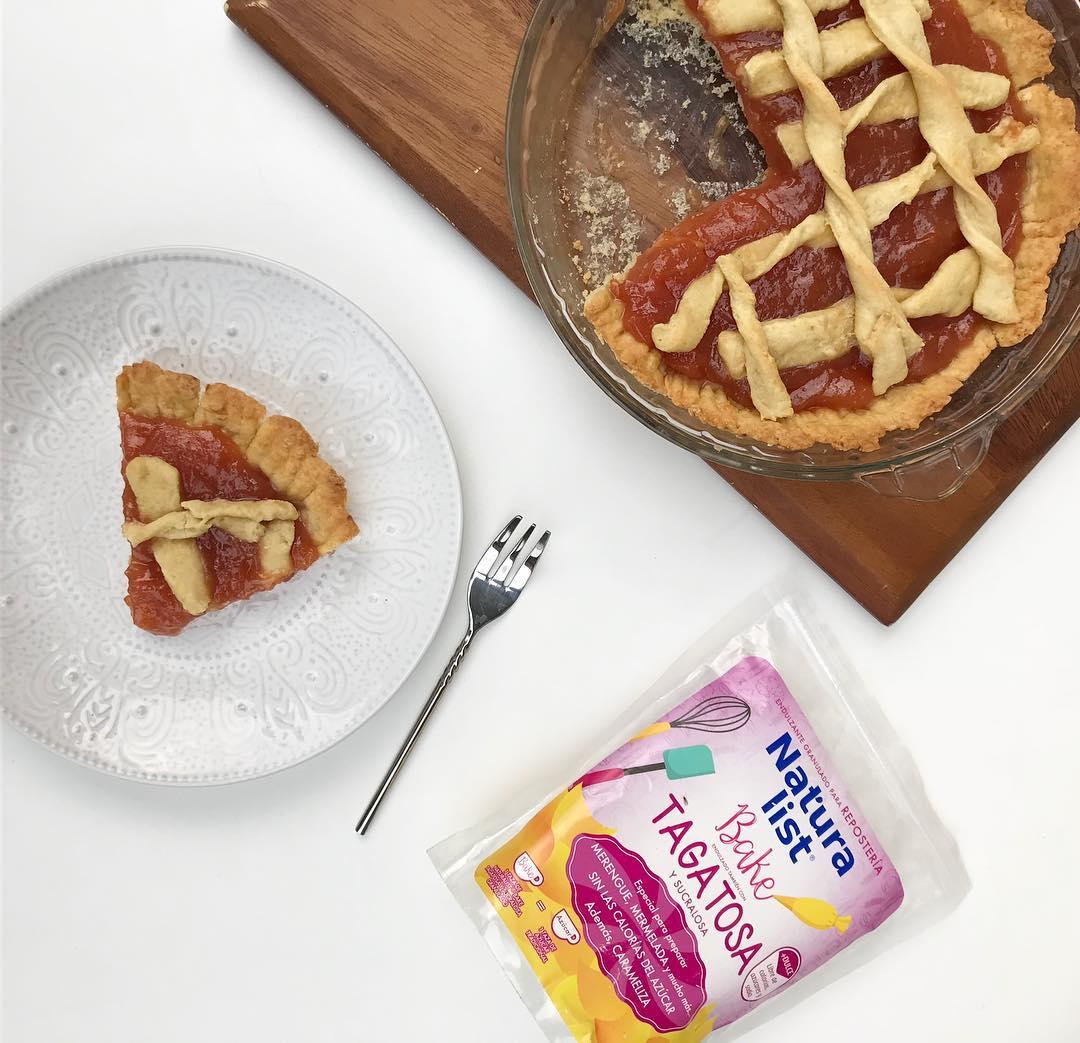 Kuchen de dulce de membrillo sin azúcar