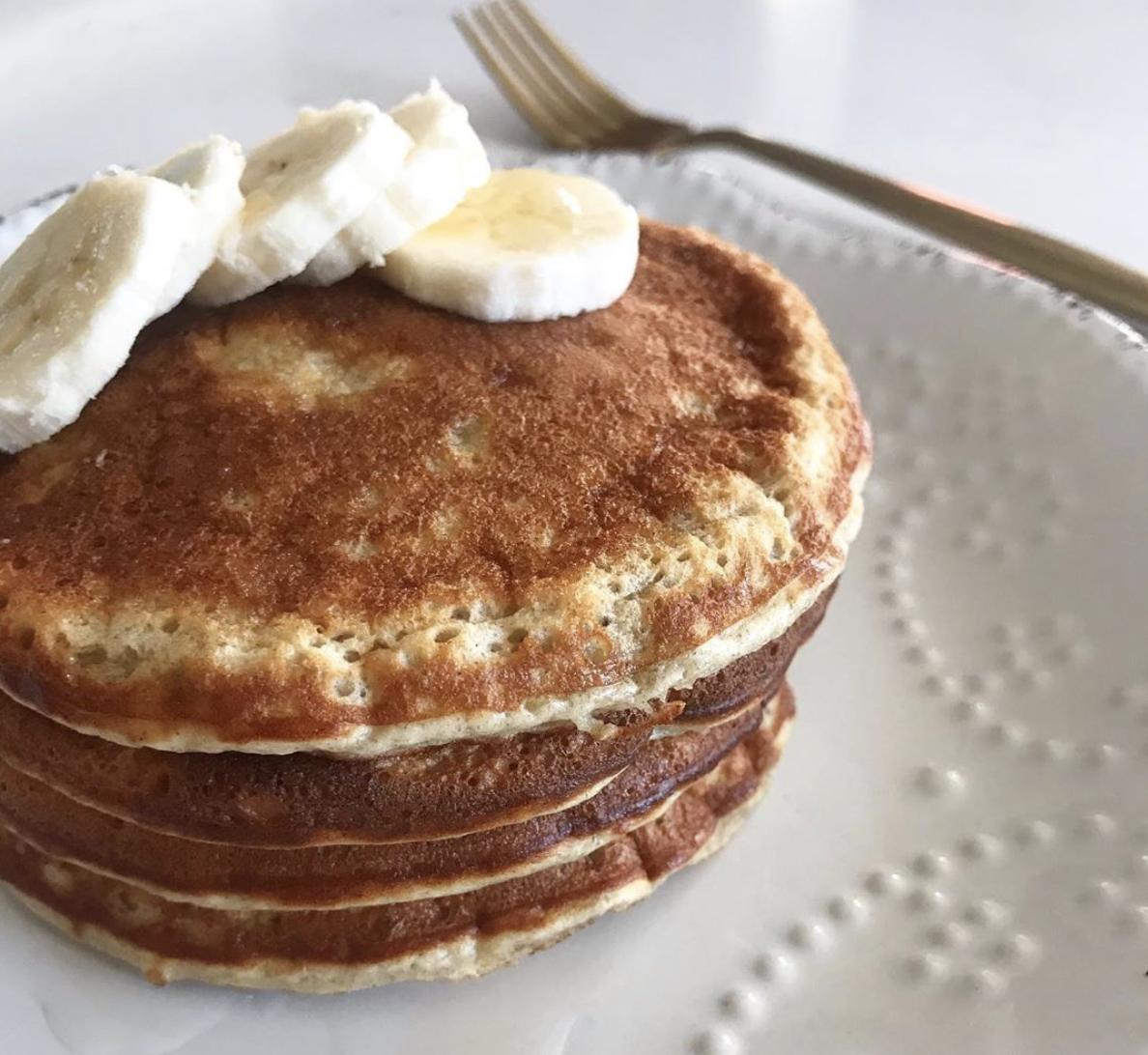 Pancakes de plátano (banana)